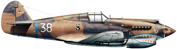 Истребитель Кертис P-40 «Томагавк»