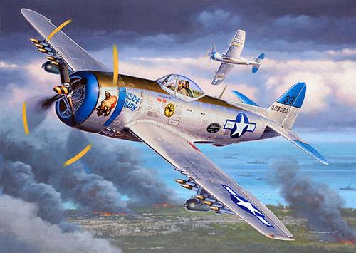 Истребитель P-47 «Thunderbolt»