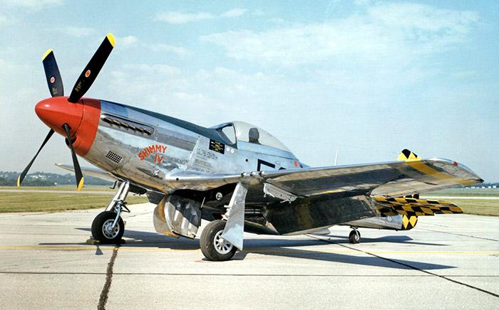 Американский истребитель второй мировой войны P-51 Мустанг