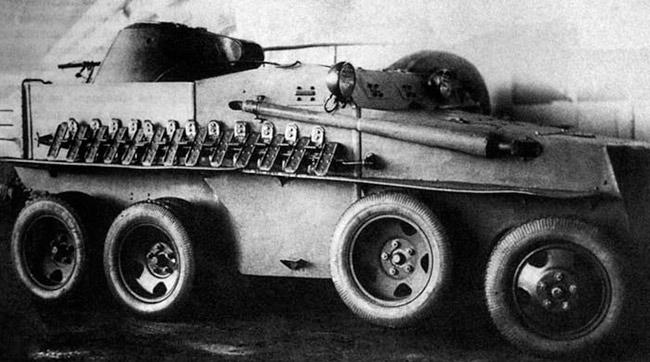Плавающий бронеавтомобиль ПБ-7