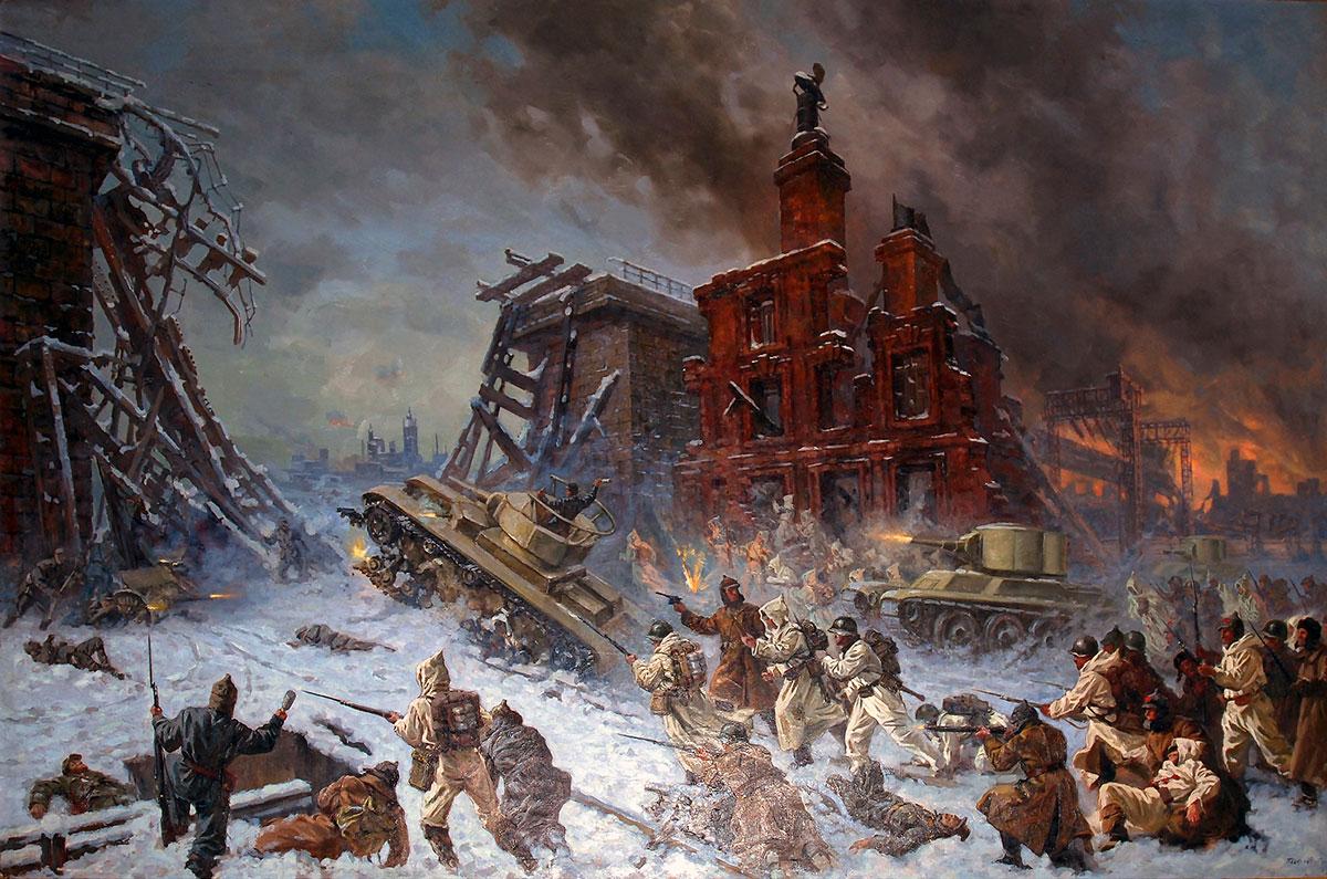 «Штурм Выборга», Павел Соколов-Скаля