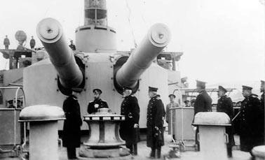 305-мм орудия броненосца Евстфий
