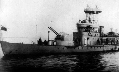 Потери японского и советского флотов в 1945 г.