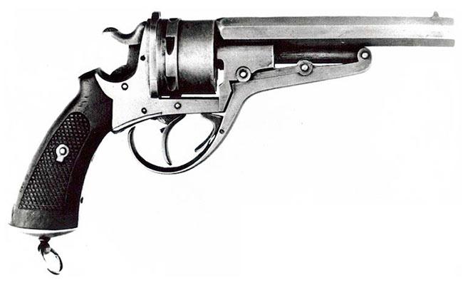 Револьвера Галан-Шмидт 1881