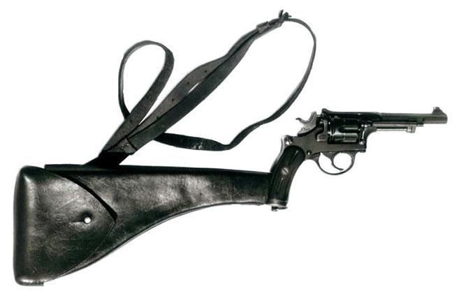 Револьвер Галан-Шмидт 1882 с прикладом