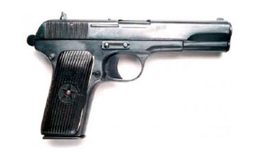 Пистолеты и револьверы командиров Красной Армии