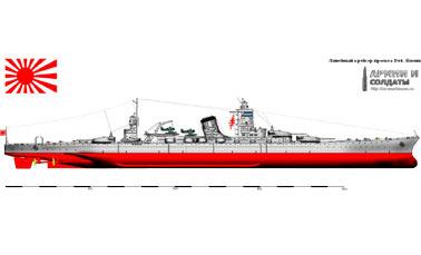 Японские суперкрейсеры Второй мировой