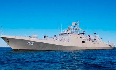 Российские фрегаты проекта 11356 Р/М