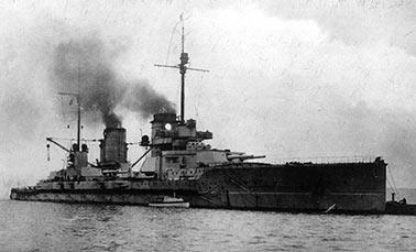 Немецкий линейный крейсер «Зейдлиц»