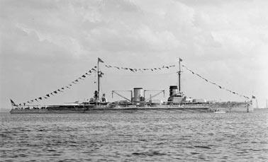 Линейные крейсеры «Мольтке» и «Гебен»