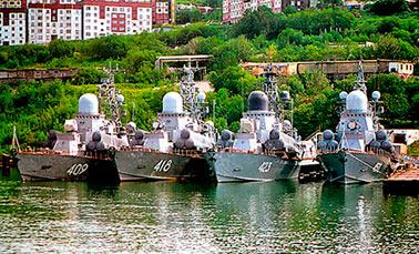 История службы малых ракетных кораблей проектов 1234, 1234.1,1234.7,1234.Э  («Овод»)