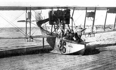 Применение авианосцев в Первой мировой войне на всех театрах военных действий