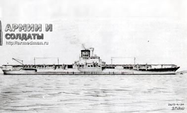 Боевой путь авианосца «Синано» (Япония)