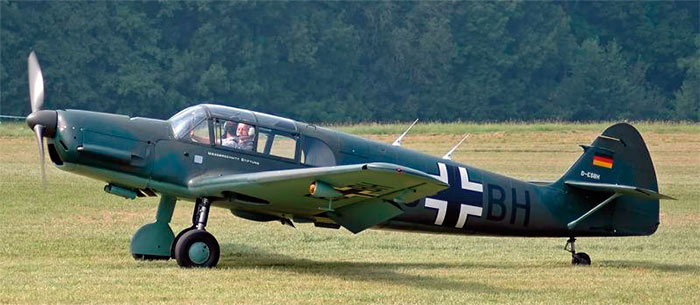 Спортивный самолет Bf-108, прародитель истребителя Bf-109