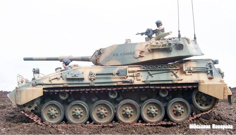 Средний танк TAM на базе БМП Мардер