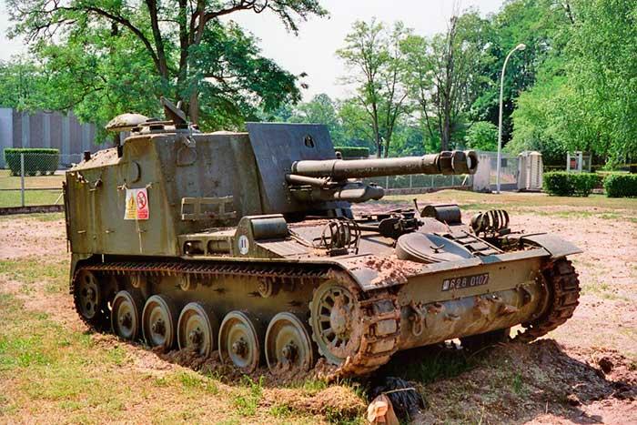 AMX-13 со 105-мм орудием