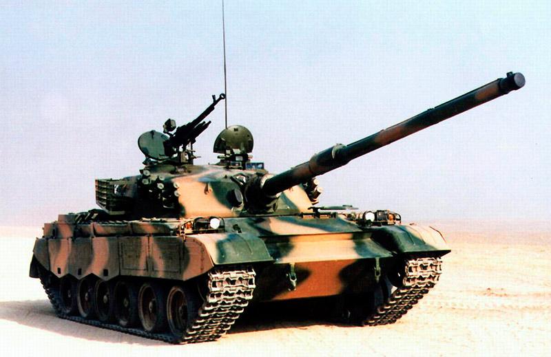 Китайский основной танк Type 85