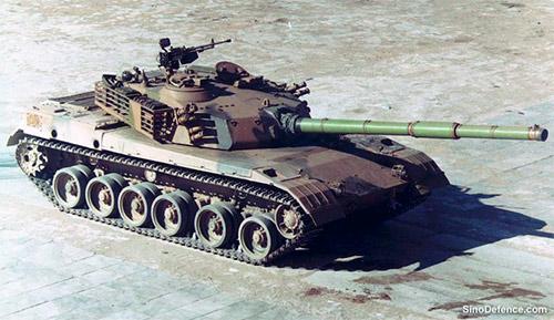 Основной танк Type 85