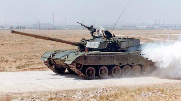Type 85 с динамической защитой