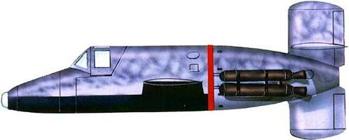 Таранный истребитель Ba-349 «Наттер»
