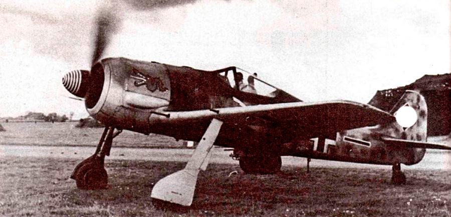 FW-190A-3 из системы ПВО Берлина.