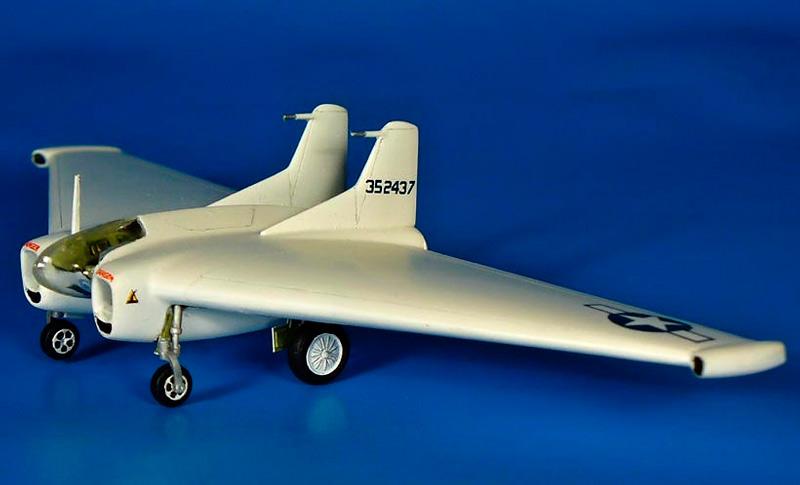 Таранный истребитель XP-79 «Нортроп»