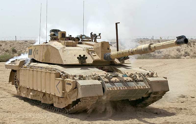 Британский основной танк «Челленджер 2»