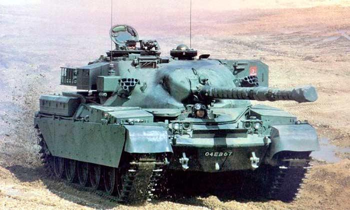 Британский основной танк Chieftain
