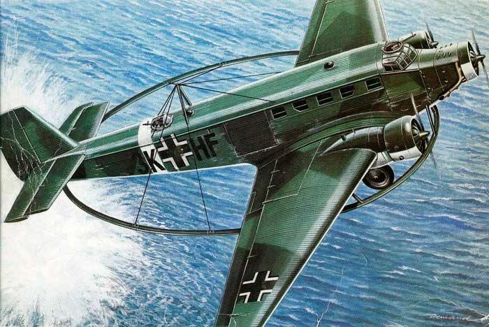 Ju-52/3m(MS) - минный тральщик