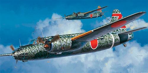 Бомбардировщик Накадзима Ki-49 «Донрю» (Япония)