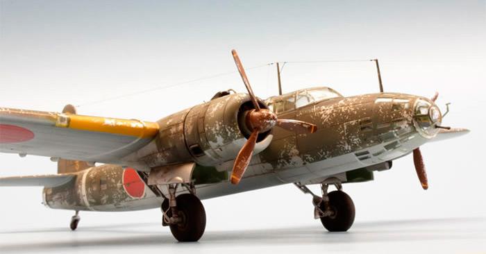 Бомбардировщик Накадзима Ki-49 «Донрю»