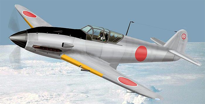 Японский истребитель Ki-61