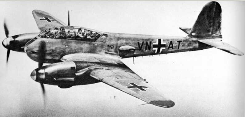 Тяжелый истребитель Me-210-Me-410