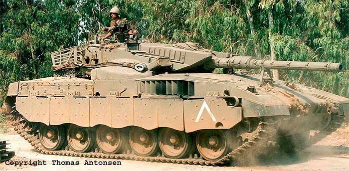 Израильский основной боевой танк Merkava Mk 1