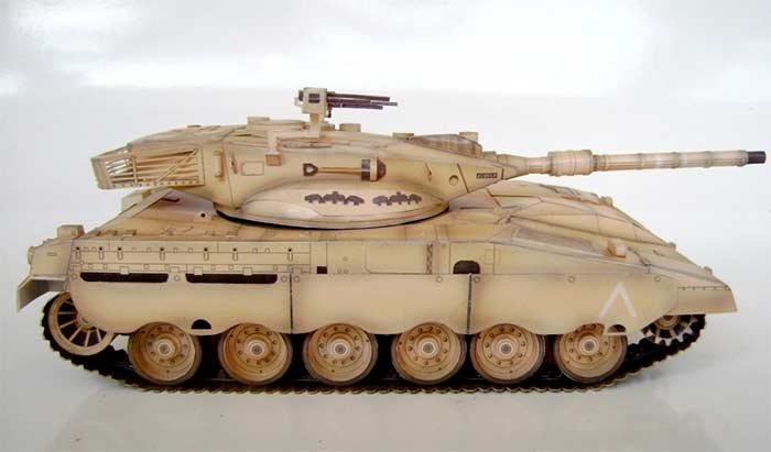 Танк «Меркава» Mk 2