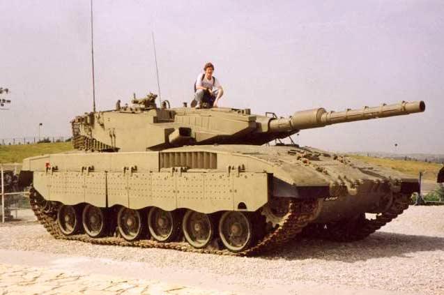 Танк «Меркава» Mk 3