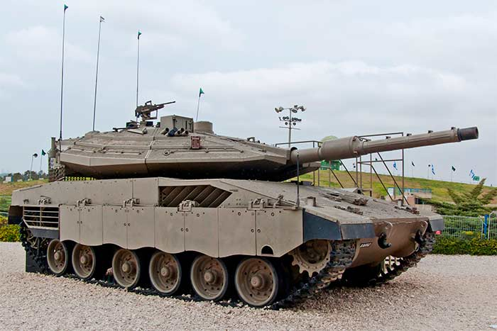 Как видно даже из фотографии, «Меркава» Mk 4 это уже совсем другая машина