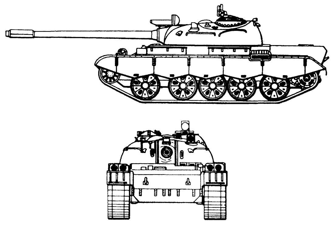 Схема китайского танка Тип 69