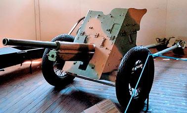 Противотанковая пушка 19-К, образца 1932 г.