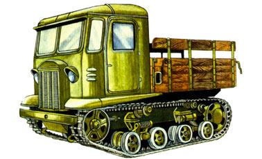 Легкий артиллерийский трактор СТЗ-5