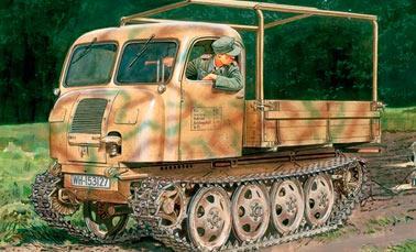 Гусеничный тягач RSO (Porsche Typ 175) (Германия)