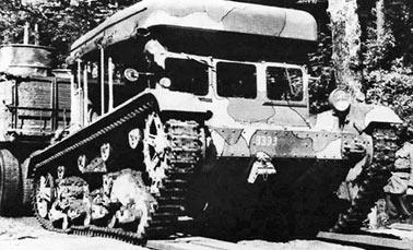 Артиллерийский тягач C7P (Польша)