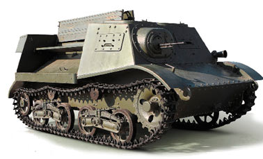 Легкий артиллерийский тягач Т-20 Комсомолец