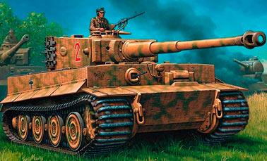 Тяжелый танк PZ VI Тигр