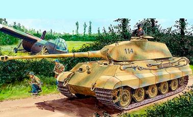 Тяжелый танкPz.Kpfw.VI «Tiger II» (Sd.Kfz.182)(Германия)
