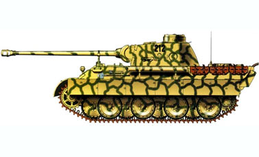 Тяжелый танкPz.Kpfw.V Пантера