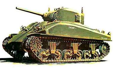 Средний танк M4A1 Шерман