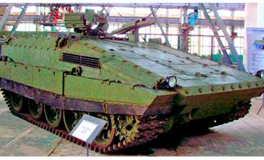 Тяжелая БМП-55 на базе танка Т-55