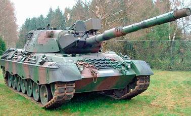 Основной боевой танк Leopard I (Германия)