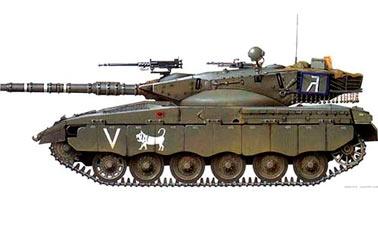 Израильский основной боевой танк Merkava